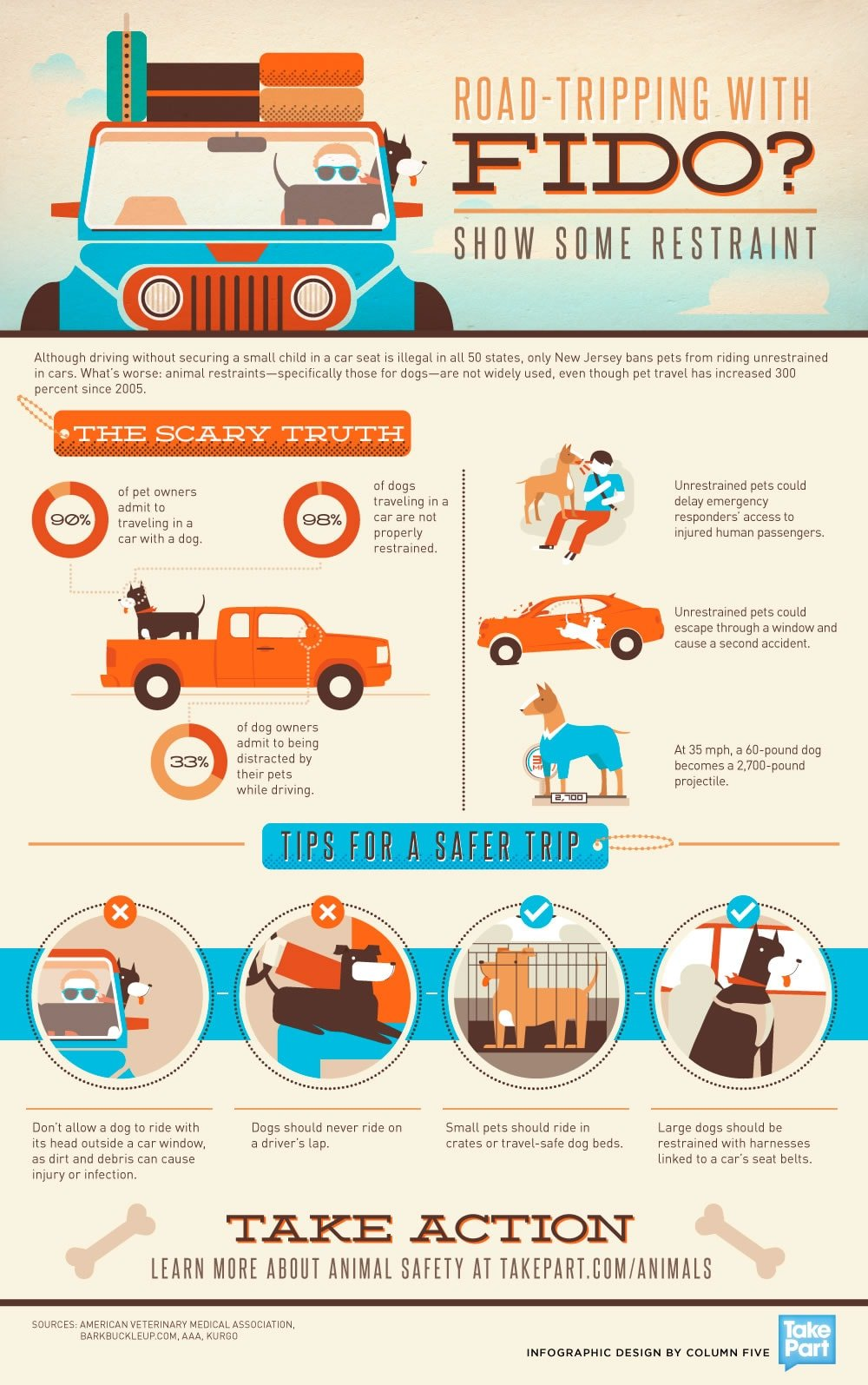 Infographic Summer Road Trip How To Safely Travel With Your Pet