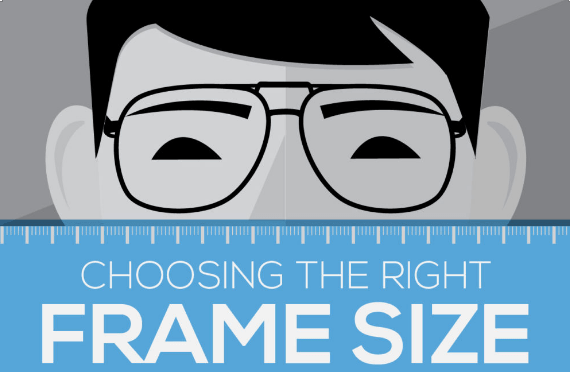 Eyeglasses Size Chart: Choosing the right frame size