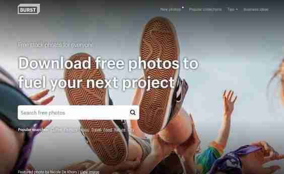 Burst Shopify Free Stock Photo website