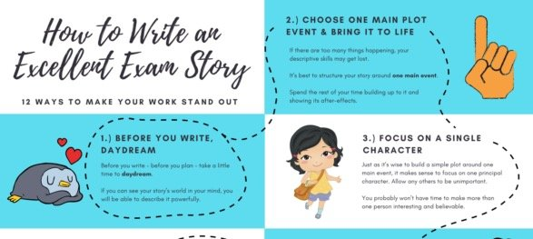 Write An Excellent Exam Story