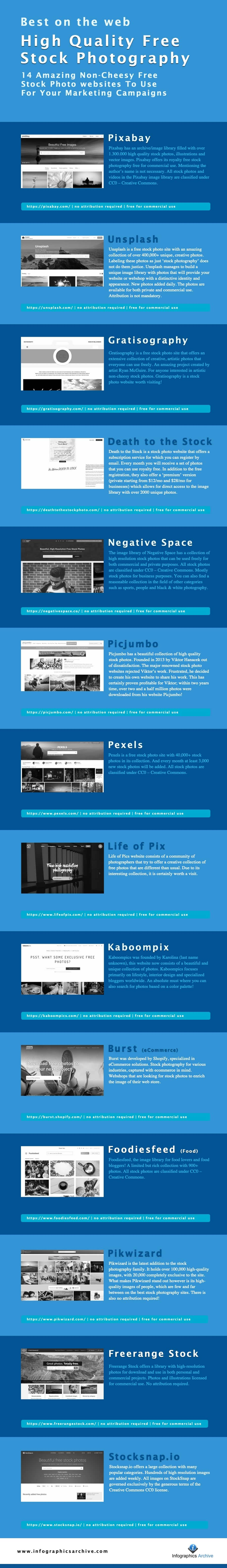 14 amazing free stock photo websites