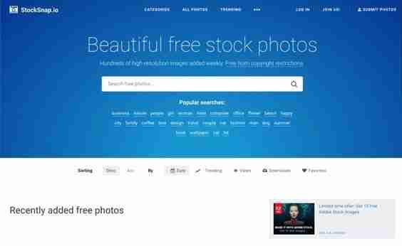 Stocksnap - website